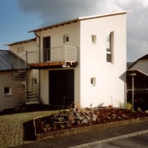 Umbau einer Scheune zu einem Apartment, Bremm