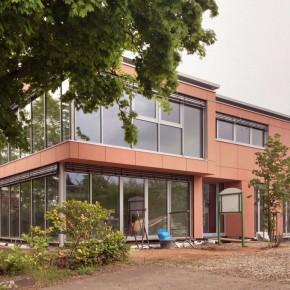 Fassade Landhaus Rotenberg fertiggestellt